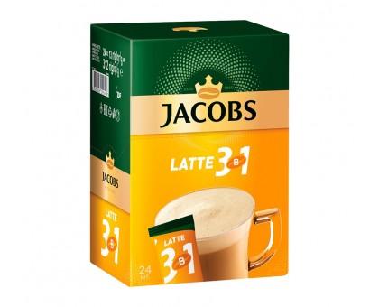 "Стики ""Jacobs Латте"" (24шт)."